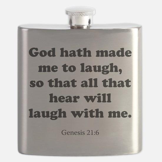 Genesis 21:6 Flask