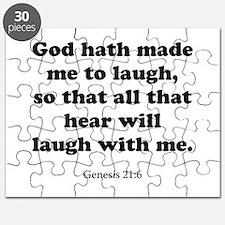 Genesis 21:6 Puzzle