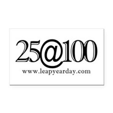 25@100 Rectangle Car Magnet