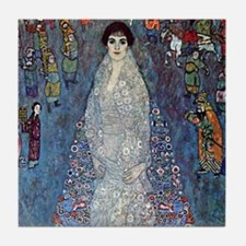 Gustav Klimt Baroness Elizabeth Tile Coaster