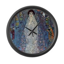 Gustav Klimt Baroness Elizabeth Large Wall Clock