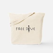 Free Dive Tote Bag