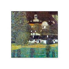 Klimt Portrait of Adele Bloch-Bauer Square Sticker