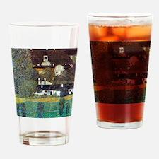Klimt Portrait of Adele Bloch-Bauer Drinking Glass