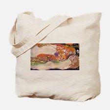 Gustav Klimt Water Serpents Tote Bag