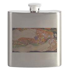 Gustav Klimt Water Serpents Flask