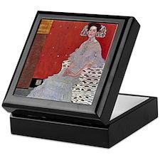 Gustav Klimt Fritza Reidler Keepsake Box