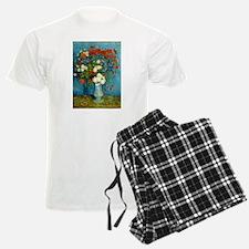 Van Gogh Cornflowers And Poppies Pajamas
