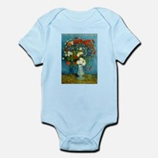 Van Gogh Cornflowers And Poppies Infant Bodysuit