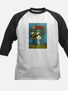 Van Gogh Cornflowers And Poppies Kids Baseball Jer