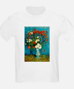 Van Gogh Cornflowers And Poppies T-Shirt