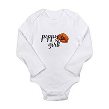 Cute Memorial day Long Sleeve Infant Bodysuit