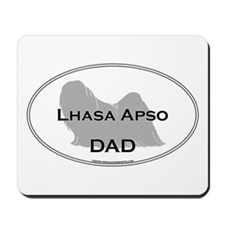 Lhasa Apso DAD Mousepad