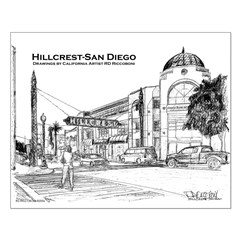 Hillcrest-San Diego Posters