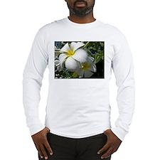 Tiare Flowers Long Sleeve T-Shirt