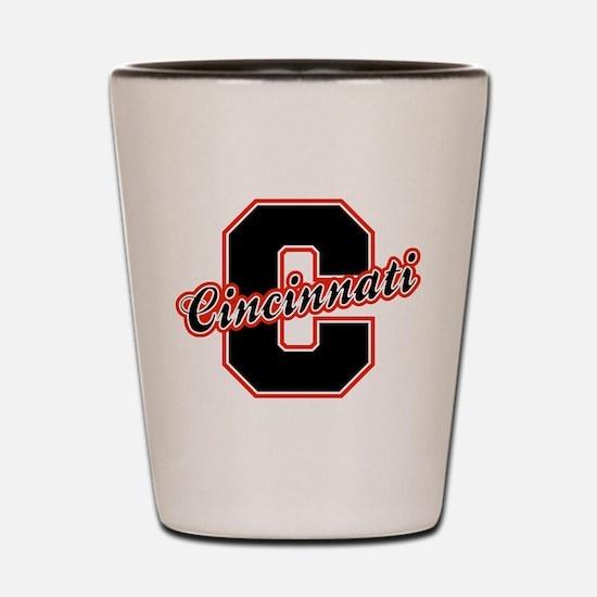 Cincinnati Letter Shot Glass