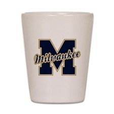 Milwaukee Letter Shot Glass