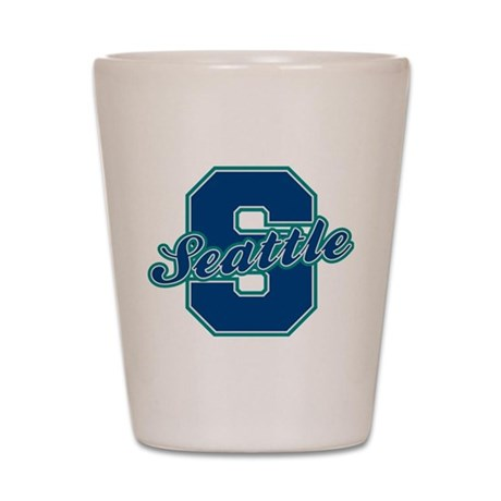 Seattle Letter Shot Glass