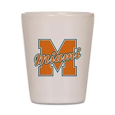 Miami Letter Shot Glass