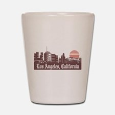 Los Angeles Linesky Shot Glass