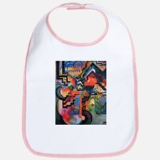 August Macke Colored Composition Bib