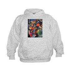 August Macke Colored Composition Hoodie