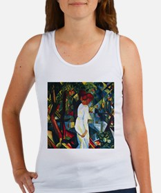 August Macke Couple In The Forest Women's Tank Top