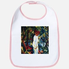 August Macke Couple In The Forest Bib