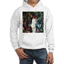 August Macke Couple In The Forest Hoodie