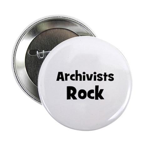 ARCHIVISTS Rock Button