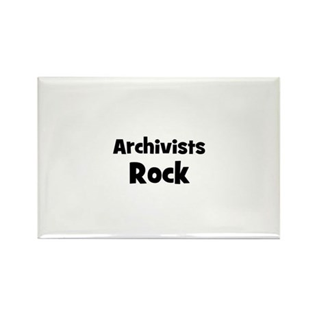 ARCHIVISTS Rock Rectangle Magnet (10 pack)
