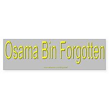 """Osama"" Bumper Bumper Sticker"
