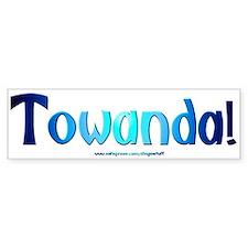 """Towanda"" Bumper Bumper Sticker"