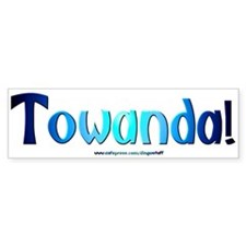 """Towanda"" Bumper Car Sticker"