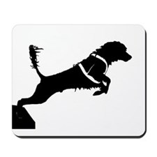 Portuguese Water Dog Jump Mousepad