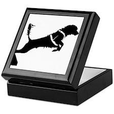 Portuguese Water Dog Jump Keepsake Box