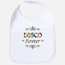 Disco Forever Bib
