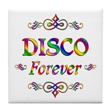 Disco Forever Tile Coaster
