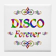 Disco Forever Tile Coaster