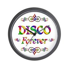 Disco Forever Wall Clock