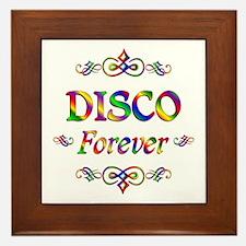 Disco Forever Framed Tile