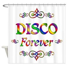 Disco Forever Shower Curtain