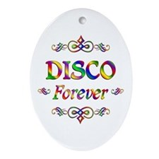 Disco Forever Ornament (Oval)