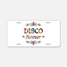 Disco Forever Aluminum License Plate