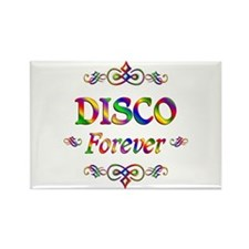 Disco Forever Rectangle Magnet