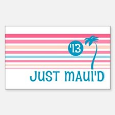 Stripe Just Maui'd '13 Decal