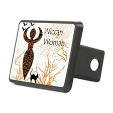 Wiccan Woman - halloween Hitch Cover