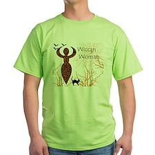 Wiccan Woman - halloween T-Shirt