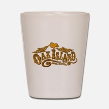 Oak Island Saloon Shot Glass