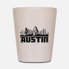 Austin Skyline Shot Glass